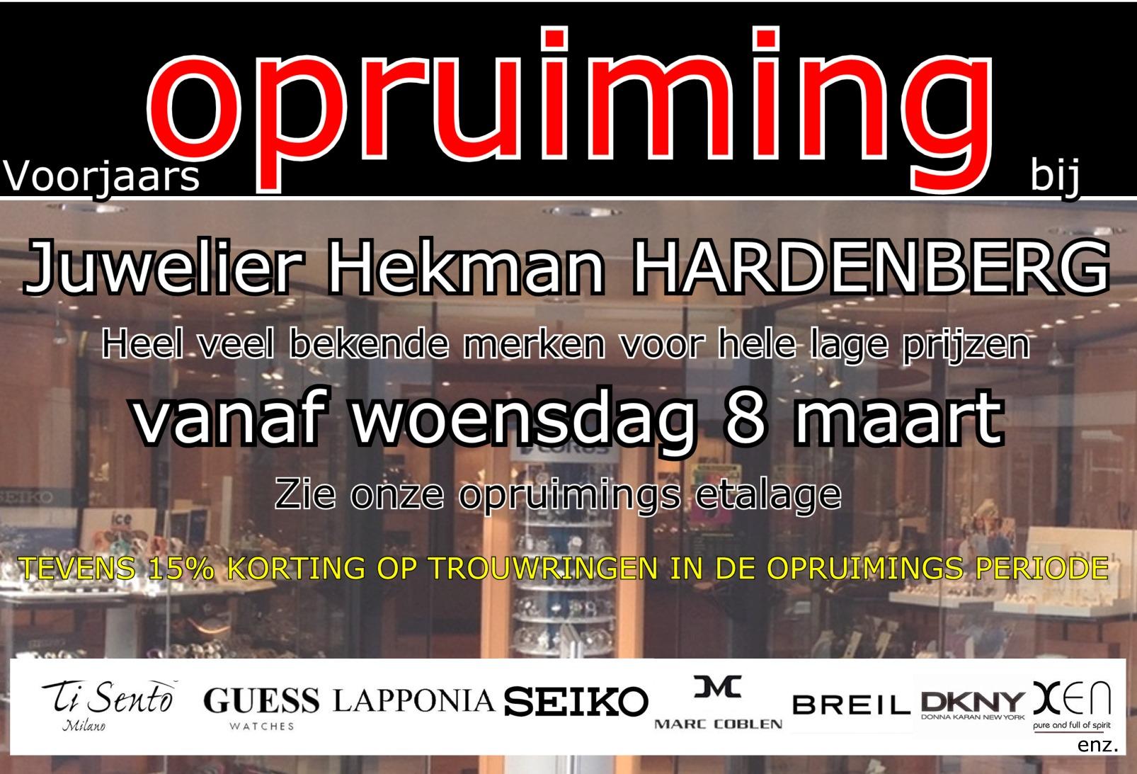 Advertentie Hekman Juwelier voor week 10